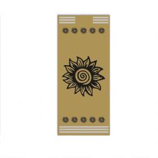 Buste Portaposate in carta paglia con disegno generico