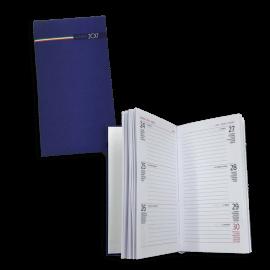 Agenda tascabile settimanale 8x15