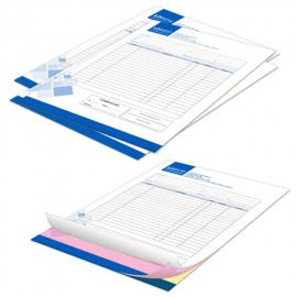Fascicoli autocopianti A4 1 colore triplice copia