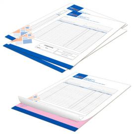 Fascicoli autocopianti A4 quadricromia duplice copia