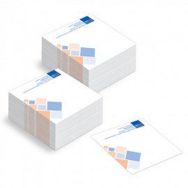 Block notes mini (9,5x9,5) da 500 fogli