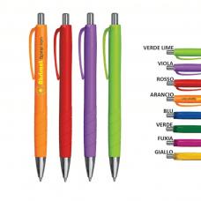 Penna a sfera fusto colorato