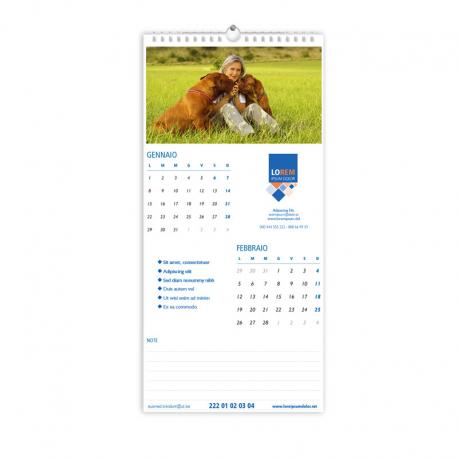 Calendario 20x42 - fogli 6+1