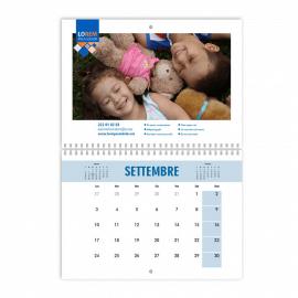 Calendari A3 fogli 12+2 doppia pagina con spirale