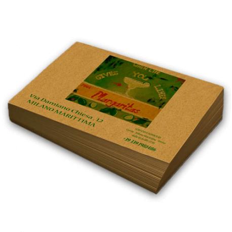 Tovaglietta carta paglia stampa a colori