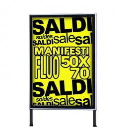 Manifesti Fluo 50x70