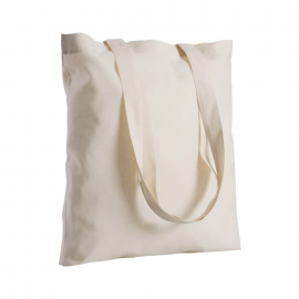 Borsa shoppers in cotone ecrù 130gr