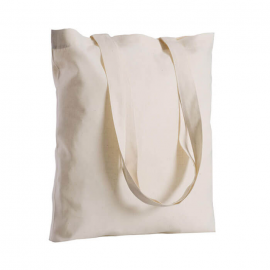 Borsa shoppers in cotone ecrù 220gr