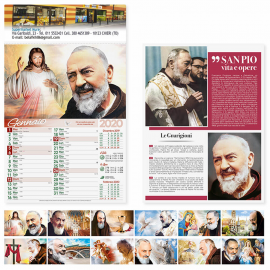 Calendario Illustrato San Pio