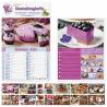 Calendario illustrato dolci