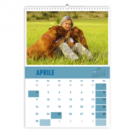 Calendario A3 fogli 6+2 f/retro