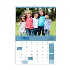 Calendari A4  fogli 12+1