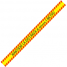 Adesivo calpestabile cm. 100X7