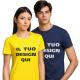 T-shirt unisex cotone 130gr