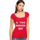 T-shirt donna cotone 150gr