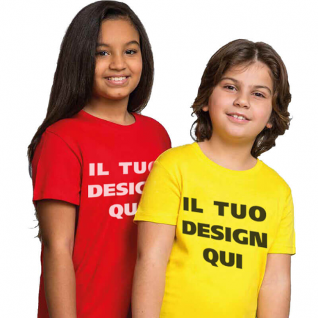 T-shirt Junior cotone 150gr