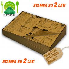 Tovagliette carta paglia 100 gr stampa bifacciale