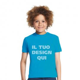 T-shirt junior girocollo