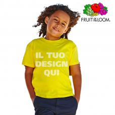 T-shirt junior girocollo Fruit of the Loom