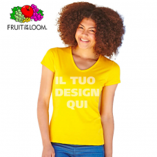 T-shirt donna Fruit of the Loom