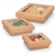 Contenitori da asporto per insalate in cartone