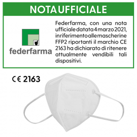 Mascherina protettiva FFP2