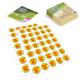 Etichette adesive mezzo taglio