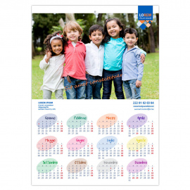 Calendari A3 annuale pagina singola