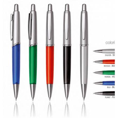Penna in plastica/metallo B11034/SIL