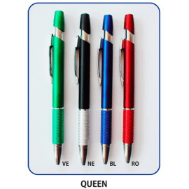 Penna in plastica QUEEN