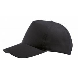 Cappellino adulto 5 pannelli cotone twill ricamato