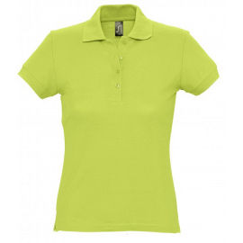 Polo Donna manica corta colorata 170gr