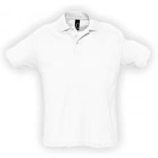 Polo Uomo manica corta bianca 170gr