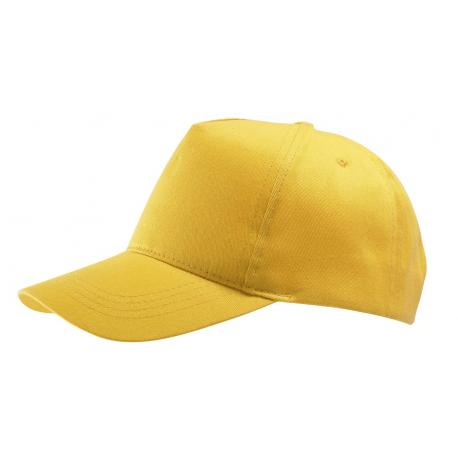 Cappellino adulto 5 pannelli cotone twill