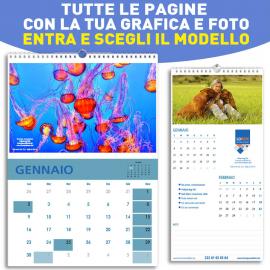 Calendario Solo Numeri.Stampa Calendari Personalizzati Stampainrete Com